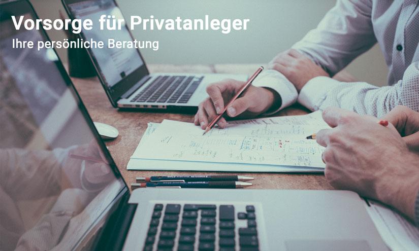 Persönlich Beratung für Privatanleger - Fahrner Investment